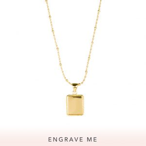 The Frida Necklace In Yellow Gold
