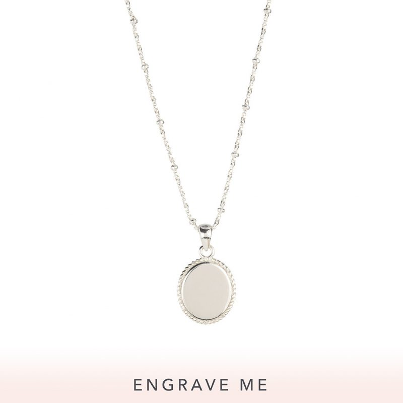 The Georgia Necklace In Sterling Silver