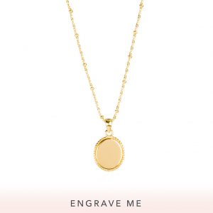 The Georgia Necklace In Yellow Gold