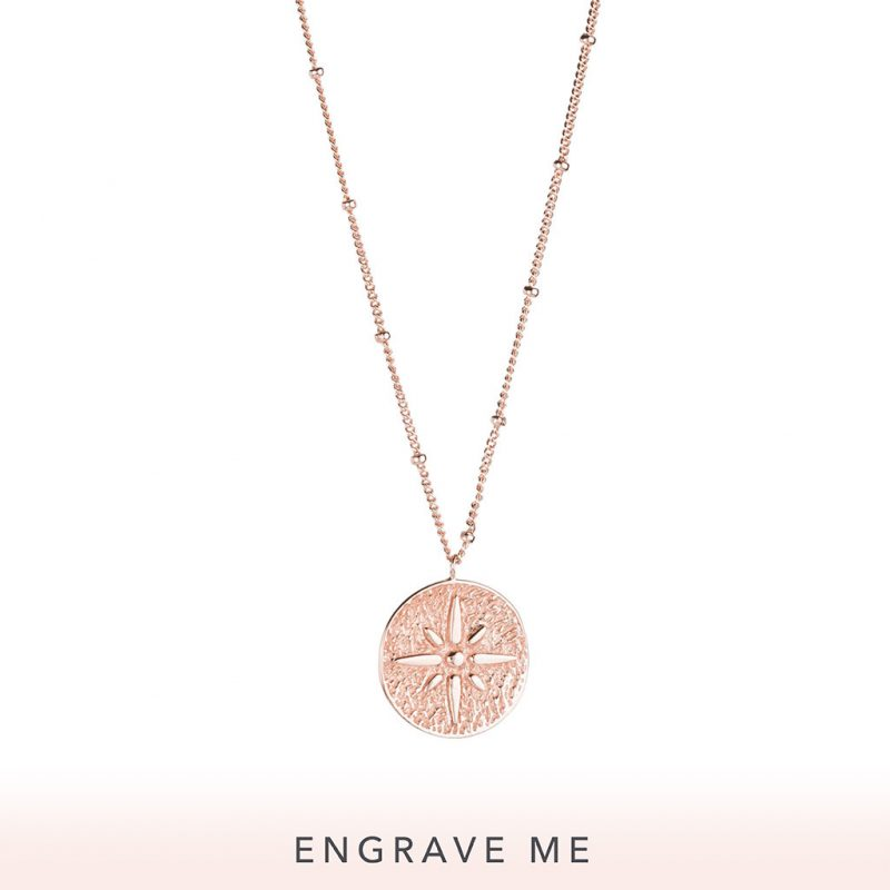 The Seafarer Necklace In Rose Gold