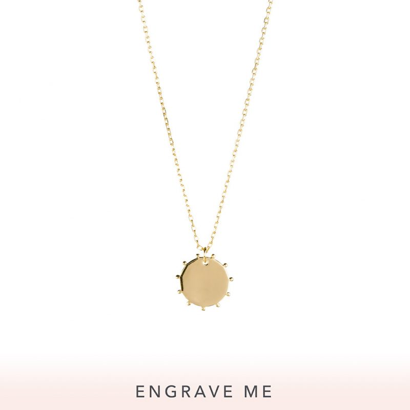 The Sunna Necklace In Yellow Gold