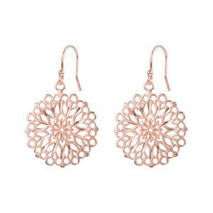 Flora Earrings In Rose Gold