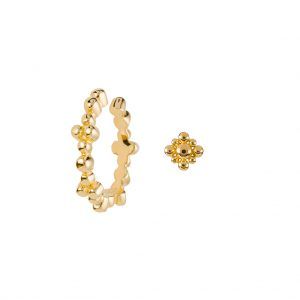 Gigi Ear Party Duo In Yellow Gold